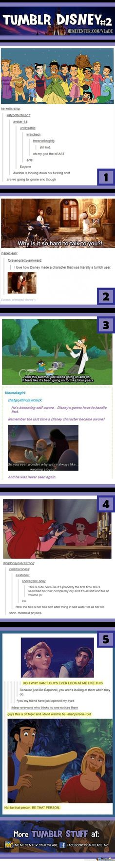 This is fantastic! But the Ratatouille one tho. It's so accurate. I never thought of it before but it's so true!!!