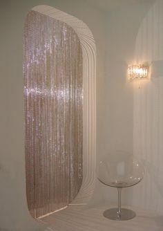 Interior futurista que da algunas ideas para la decoración de este estilo | DigsDigs