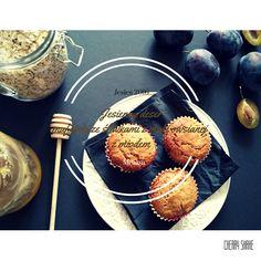 Cherry Shake: Jesienny deser – muffinki ze śliwkami z mąki owsia...
