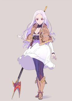 Female: Spear Master