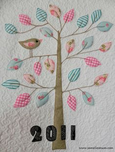 Another cute tree one, this one looks very girly because of the small trunk and branches, super cute