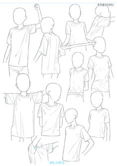 Hand Drawing Reference, Drawing Reference Poses, Art Drawings Sketches Simple, Cute Drawings, Manga Drawing Tutorials, Manga Tutorial, Drawing Anime Clothes, Digital Art Beginner, Drawing Expressions