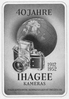 40 years Ihagee cameras (AD 1952)