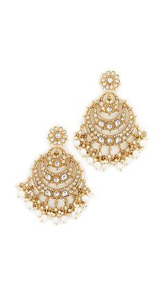 Blossom Box Chandelier Imitation Pearl Earrings | SHOPBOP