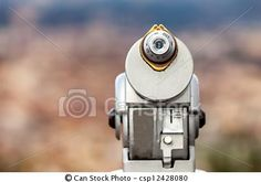 Stock Photo - Coin Operated Telescope - stock image, images, royalty free photo, stock photos, stock photograph, stock photographs, picture, pictures, graphic, graphics