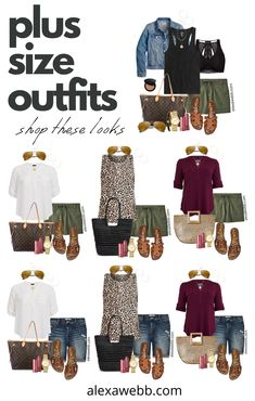 Fall Outfits For Work, Casual Summer Outfits, Short Outfits, Cute Outfits, Winter Outfits, Khaki Shorts Outfit, Casual Shorts, Curvy Fashion, Look Fashion