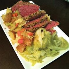 Slow Cooker Corned Beef and Cabbage   Our Irish St. Pat's day dinner