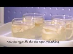 Cách làm thạch rau câu dừa - YouTube