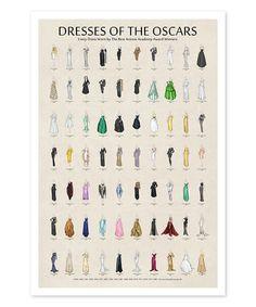 Another great find on #zulily! Oscar Dress Chart Print #zulilyfinds