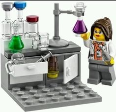 HTF & RARE LEGO - 21110 Research Institute Female Chemist Minifigure ONLY #LEGO