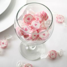 'Just Married' Rock Sweets - Pink, comes in other colours as well