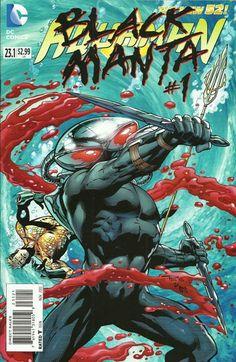 Black Manta Villain's Month Cover (Aquaman #23.1)