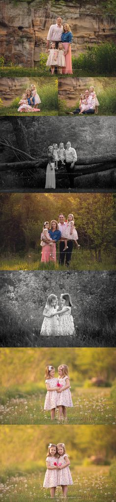 Des Moines, Iowa twins, child, family photographer | Sophie + Chloe are 5 years old | photographer, Darcy Milder | His & Hers