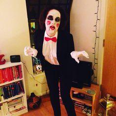 Jigsaw billy the puppet for Halloween