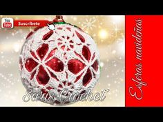 Crochet Christmas Decorations, Crochet Christmas Trees, Christmas Tree Baubles, Crochet Decoration, Crochet Ornaments, Christmas Balls, Holiday Ornaments, Xmas Decorations, Christmas Crafts
