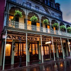 Opened in 1840, this classical and elegant St. Louis Street restaurant features 14 uniquely-styled dining rooms in which to enjoy French-Creole cuisine. It is in its 5th generation of family...