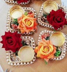 Diwali Craft, Diwali Gifts, Diwali Diya, Christmas Flower Decorations, Diwali Decoration Items, Diwali Candles, Tealight Candle Holders, Diwali Candle Holders, Religious Gifts
