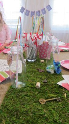 woodland fairy Birthday Party Ideas | Photo 33 of 41 | Catch My Party