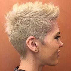 70 Overwhelming Ideas for Short Choppy Haircuts Girl Short Hair, Short Hair Cuts, Short Hair Styles, Short Pixie, Short Choppy Haircuts, Girl Haircuts, Pixie Hairstyles, Cool Hairstyles, Androgynous Haircut