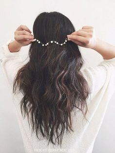 perfect hair accessory for a bride // wedding hair // the beauty department