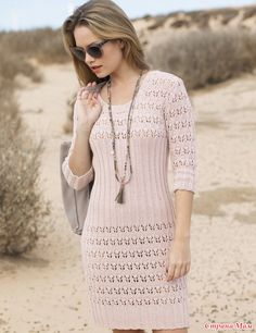 Романтичное платье с ажурной резинкой