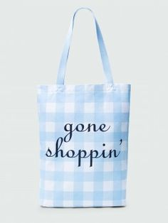 Gone Shoppin' Canvas Tote by Draper James