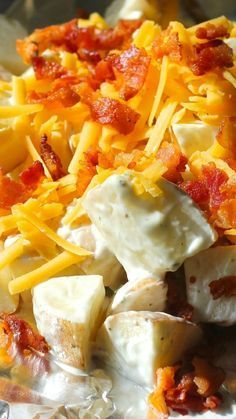Grilled Foil Ranch Potatoes ~ If you are out camping, they make a great tinfoil dinner