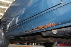 1965 Alfa Romeo 2600 Coupe For Sale Rear Rocker Rust