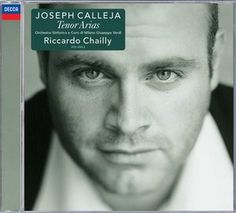 Joseph Calleja TENOR ARIAS - Deutsche Grammophon