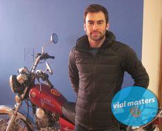 Víctor es un nuevo motero de Autoescuelas Vial Masters. ¡Un tío fantástico! ¡Disfruta tu permiso Víctor!