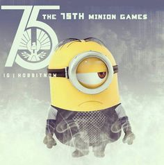 Minion Games ;) this should be Finnick as a minion!