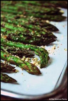 Clean Eating Baked Almond Asparagus (Click Pic for Recipe) I completely swear by CLEAN eating!!  To INSANITY and back....  One Girls Journey to Fitness, Health, & Self Discovery.... http://mmorris.webs.com/