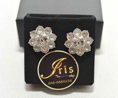 ต่างหู Chanel Earrings SHW 2cm.ของใหม่พร้อมส่ง‼️ - Iris Shop