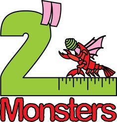 """Logo for the twelfth batch of 2"""" Monsters. This one features the Mi-go."""