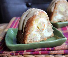 Caramel Apple Cream Cheese Bundt Cake