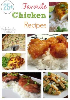 Tried and True Chicken Recipes I love a good chicken recipe! - See more at: http://fabulesslyfrugal.com/category/recipes/#sthash.E2HmI8iO.dpuf
