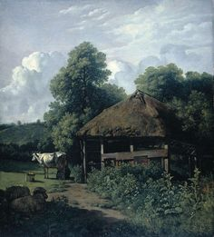 Een bouwhoeve in Gelderland, Wouter Johannes van Troostwijk, 1805 - 1810