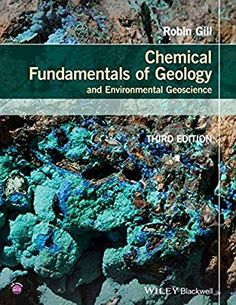 Free download physical chemistry 6th edition written by ira n chemical fundamentals of geology and environmental geoscience wiley desktop editions robin gill fandeluxe Image collections
