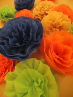 Crafter on a Budget: Easy Crepe Paper Carnations Tutorial