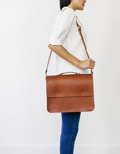 The Laura Satchel - Grace Gordon leather handbags designed & made in Britain  www.grace-gordon.com