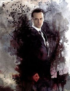 Jim Moriarty from Sherlock.  Mommy!  I have a crush on the world's most evil villain!  What do I do???