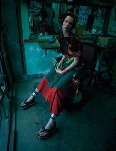 Edie Campbell + Tim Walker + W Magazine