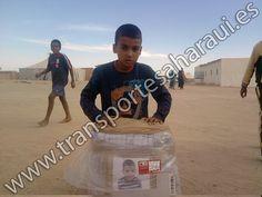 Entrega Campamentos de Refugiados Saharauis. Viaje 19 - 5/03/2013