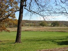 Laura Ingalls Wilder Home in Mansfield, MO - View from Rock House