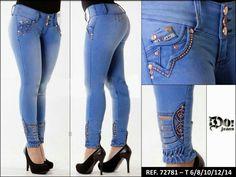 deab8dc5b Calça Reta, Calças Femininas, Calça Jeans, Feminino, Chapéus Para As  Mulheres,