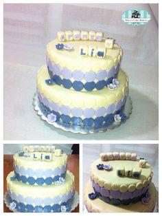 Pastel para bautizo #baptismcake