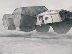 Interstellar, Christopher Nolan 2014, spaceship