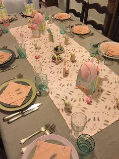 Ma table de Pâques...