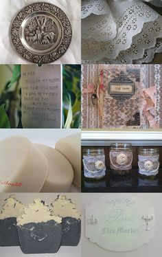 50 Shades of Cream and Gray by Jamie Gad on Etsy--Pinned with TreasuryPin.com