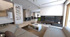 Salon styl Nowoczesny - zdjęcie od A2 STUDIO pracownia architektury - Salon - Styl Nowoczesny - A2 STUDIO pracownia architektury